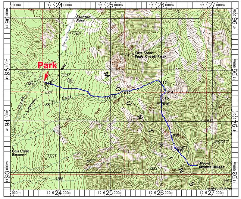 Mount Hillers Utah
